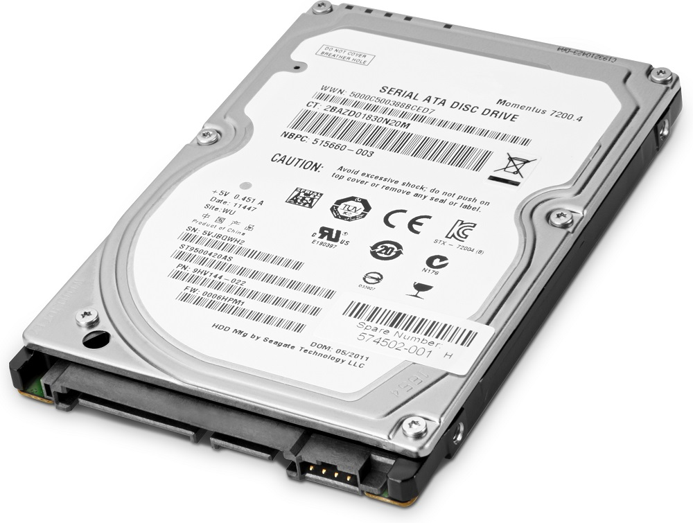 HP 1TB Enterprise SATA 7200 HDD