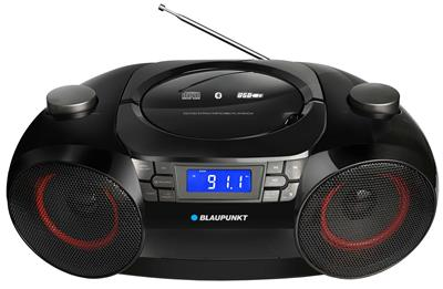 Rádiomagnetofon BLAUPUNKT BB30BT FM/CD/MP3/USB/Bluetooth