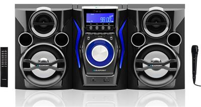 Mini systém BLAUPUNKT MC60BT FM/CD/MP3/USB/karaoke, bluetooth