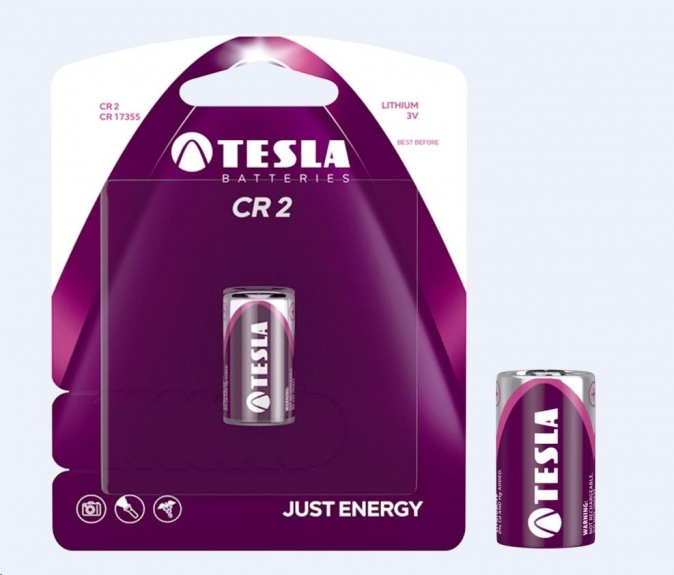 Tesla - CR 2 Lithium baterie 3V (CR2/BLISTER/1 KS)