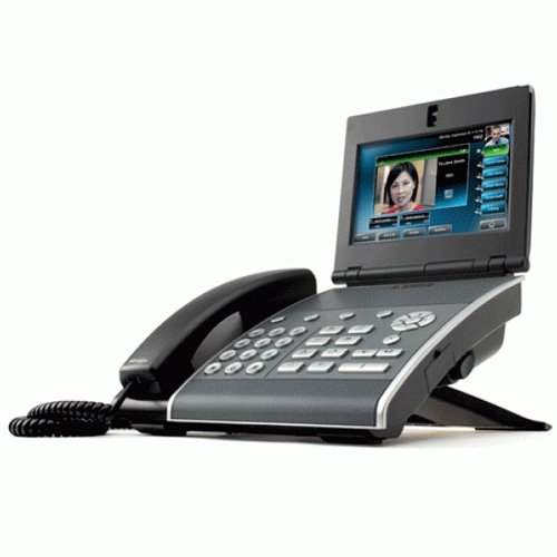 Polycom VVX 1500 - video a HD Voice IP telefon, PoE, SIP