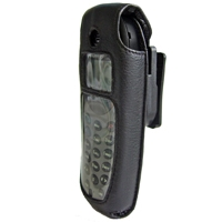 ALCATEL-LUCENT Swivel carrying case (black color) with keypad cover for Alcatel-Lucent 300&400 DECT