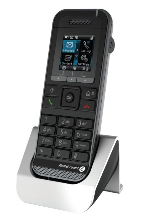 ALCATEL-LUCENT 8232s DECT Handset, contains battery and Belt clip