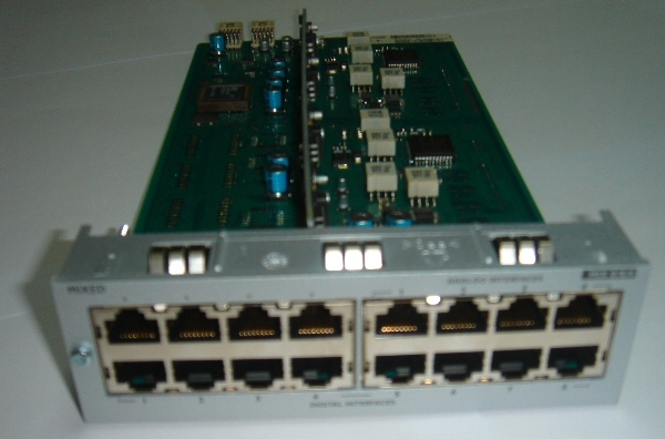 ALCATEL Analog mixed board AMIX4/4/4-1 (4 analog trunks + 4 UA + 4 SLI)