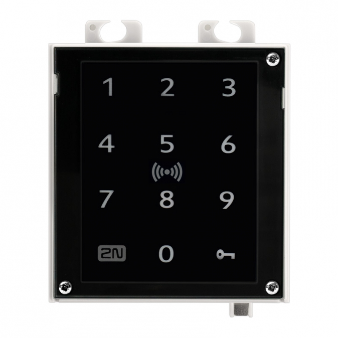 2N Access Unit 2.0 Touch keypad a RFID, IP čtečka 125 kHz, secured 13,56 MHz, NFC, bez rámečku