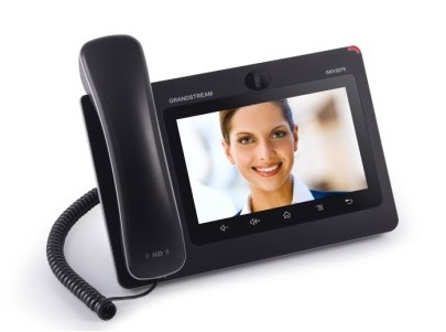 "Grandstream - IP video telefon, Android,  7"" LCD, 6x SIP účtů, 2x RJ45, 2xUSB, WIFI, Bluetooth, PoE"