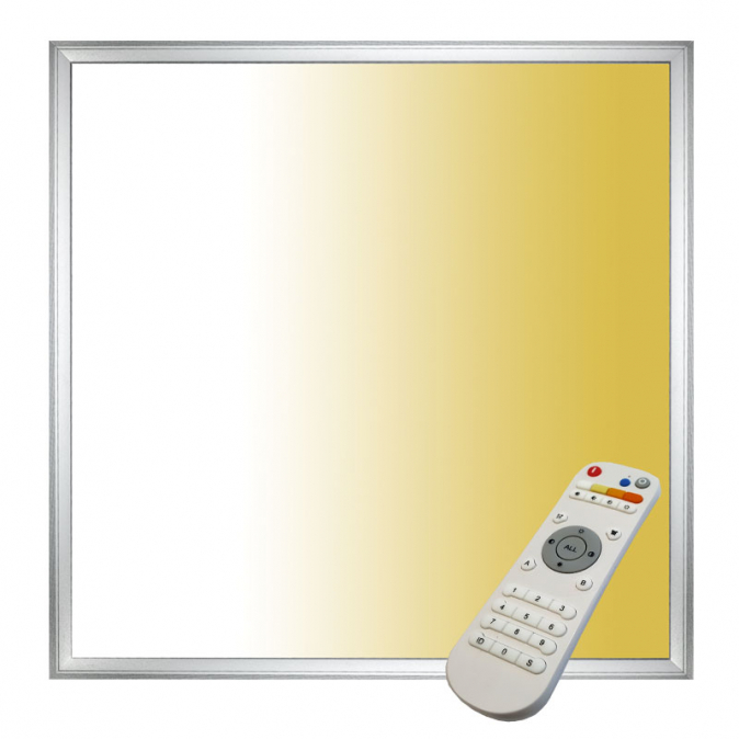 Tesla - Dynamic LED panel 600x600mm, 40W, 230V, 2700-6000K, 4000lm, životnost 35 000h, 120°