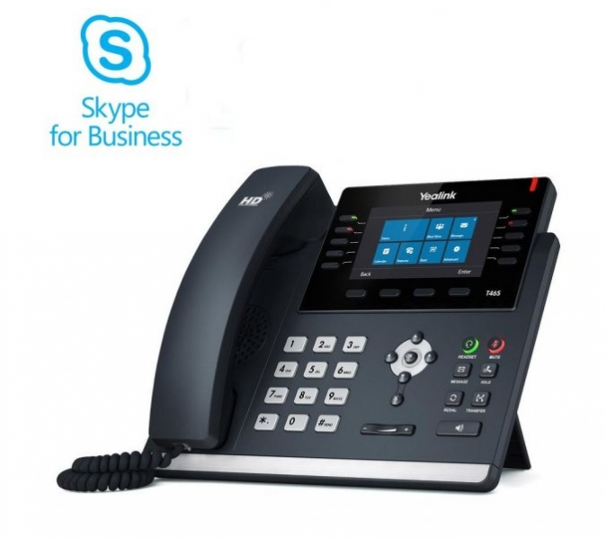 Yealink - IP telefon pro Skype for Business