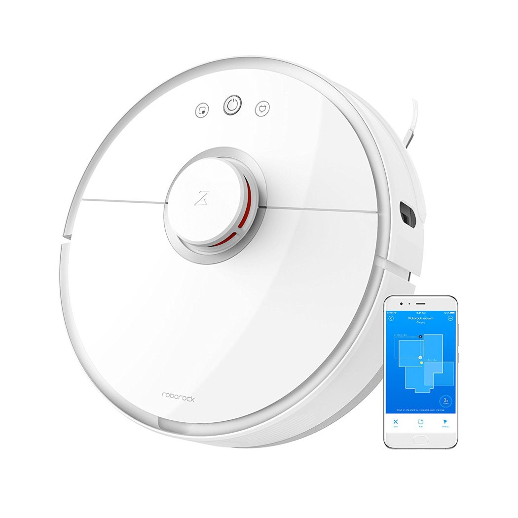 Xiaomi Mi Vacuum Cleaner 2 (Sweep One S50) white + LED žárovka