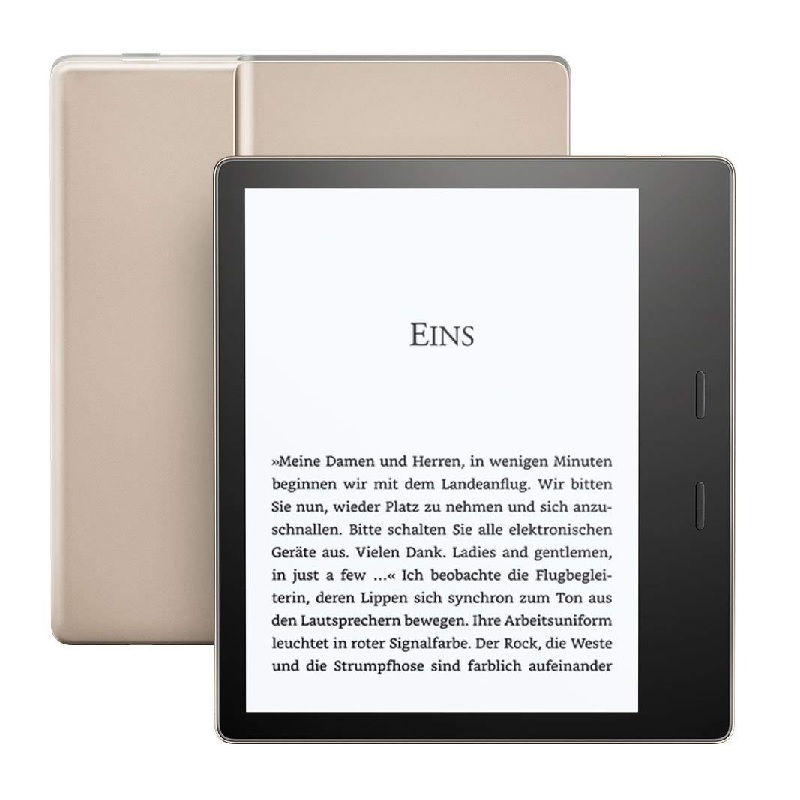 Amazon Kindle Oasis 3 (2019) WiFi, 32GB, bez reklam, gold